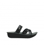 wolky slippers 00878 barbados 70000 black canals