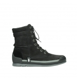 wolky lace up boots 02775 adams 13000 black nubuckleather