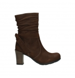 wolky mid calf boots 07750 cara 13410 tabaccobrown nubuckleather