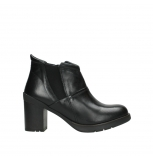 wolky ankle boots 08060 astana 30000 black leather