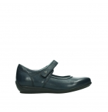 wolky mary janes 00385 noble 21800 blue leather