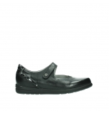 wolky mary janes 02421 electric 26000 black smooth leather patent leather