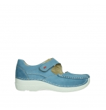wolky mary janes 06247 roll fever 06247 baltic blue nubuck