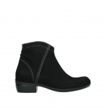 wolky ankle boots 00952 winchester 13000 black nubuck