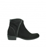 wolky ankle boots 00954 winchester wp 13000 black nubuckleather