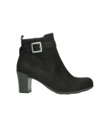 wolky ankle boots 07749 raquel 13000 black nubuckleather