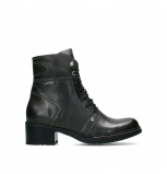 wolky ankle boots 01266 red deer xw 30210 anthracite leather