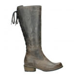 wolky high boots u 00552 pardo 80150 taupe leather
