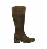 wolky high boots 00553 tinto 40310 mid brown oiled suede