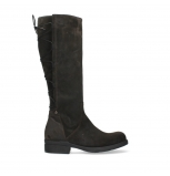 wolky high boots 02633 longview 45305 dark brown suede