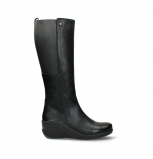 wolky high boots 03877 tanana 30000 black leather