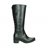 wolky high boots 07505 seoul 30000 black leather