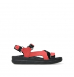 wolky sandalen 00710 energy lady 50500 red greased leather