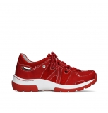 wolky lace up shoes 03028 nortec 11570 red nubuck