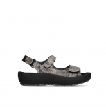 wolky sandalen 03325 rio 98150 taupe snake print leather