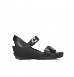 wolky sandalen 03775 epoch 20000 black leather