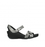 wolky sandalen 03775 epoch 09200 grey leather