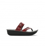 wolky slippers 00877 martinique 98500 red leather