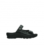 wolky slippers 03926 zaandam 35000 black leather