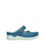wolky slippers 06610 narni 15865 royal blue nubuck