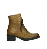 wolky ankle boots 01260 red deer 30925 dark ocre leather