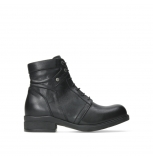 wolky lace up boots 02625 center 20000 black leather
