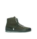 wolky lace up boots 02777 watson 13770 13770 gray brown nubuck