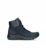 wolky lace up boots 03026 ambient 11801 blue nubuck