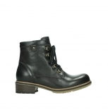 wolky ankle boots 04475 ronda 30305 dark brown leather