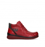 wolky lace up boots 04850 zoom 24505 dark red leather