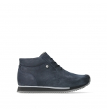 wolky lace up boots 05802 e boot 11800 blue stretch nubuck