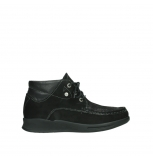 wolky lace up boots 05903 three 10000 black stretch nubuckleather