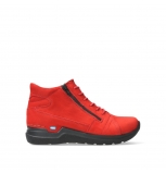 wolky lace up boots 06606 why 11505 darkred nubuckleather