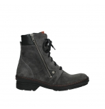 wolky ankle boots 07640 partizan 40210 anthracite suede