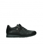 wolky lace up shoes 02525 yell 21000 black leather