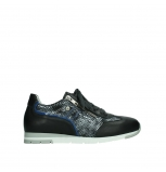 wolky lace up shoes 02526 yell xw 29000 black leather