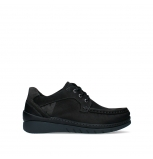 wolky lace up shoes 04852 time 11000 black nubuck