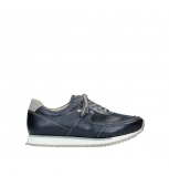 wolky lace up shoes 05806 e sneaker 84870 blue summer stretch leather
