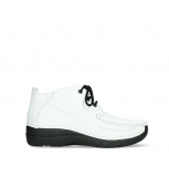 wolky lace up shoes 06200 roll moc 70100 white leather