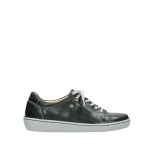 wolky lace up shoes 08128 gizeh 30070 black summer leather