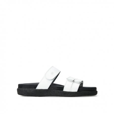 wolky slippers 00501 cirrus 30110 cream white leather