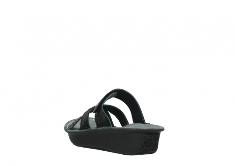 wolky slippers 00878 barbados 70000 black canals_5