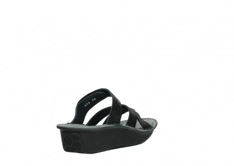 wolky slippers 00878 barbados 70000 black canals_9