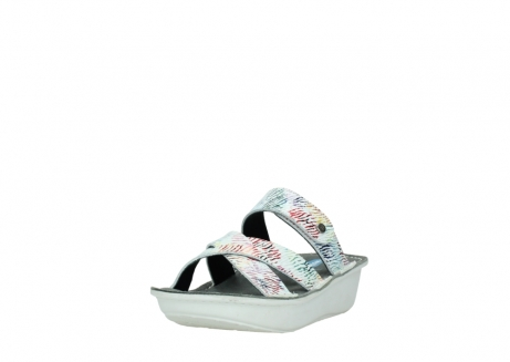 wolky slippers 00878 barbados 70980 white multi color canal leather_21