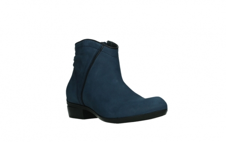 wolky ankle boots 00952 winchester 13800 blue nubuckleather_4