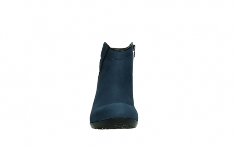 wolky ankle boots 00952 winchester 13800 blue nubuckleather_7