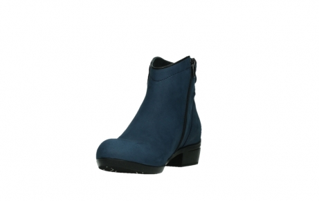 wolky ankle boots 00952 winchester 13800 blue nubuckleather_9
