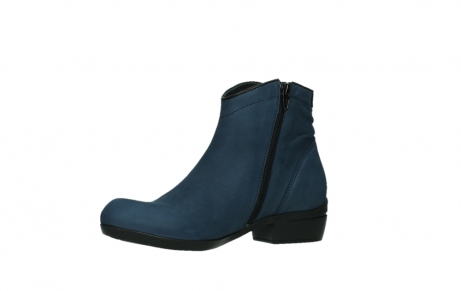 wolky ankle boots 00952 winchester 13800 blue nubuckleather_11