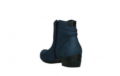 wolky ankle boots 00952 winchester 13800 blue nubuckleather_17