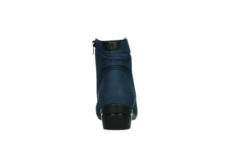wolky ankle boots 00952 winchester 13800 blue nubuckleather_19